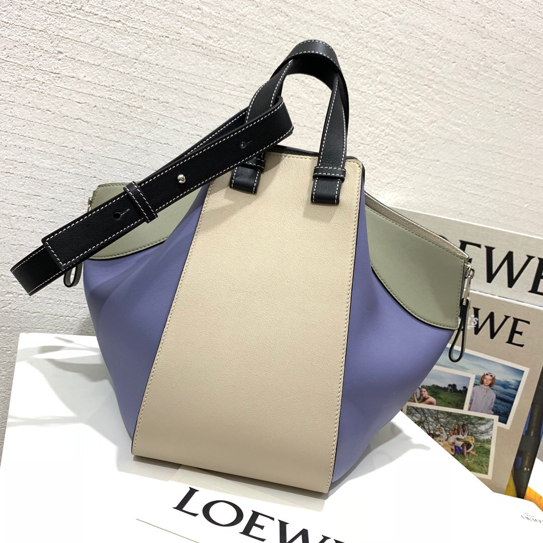 羅意威吊床小號和中號 Loewe Hammock Small Bag Light Oat/Sage
