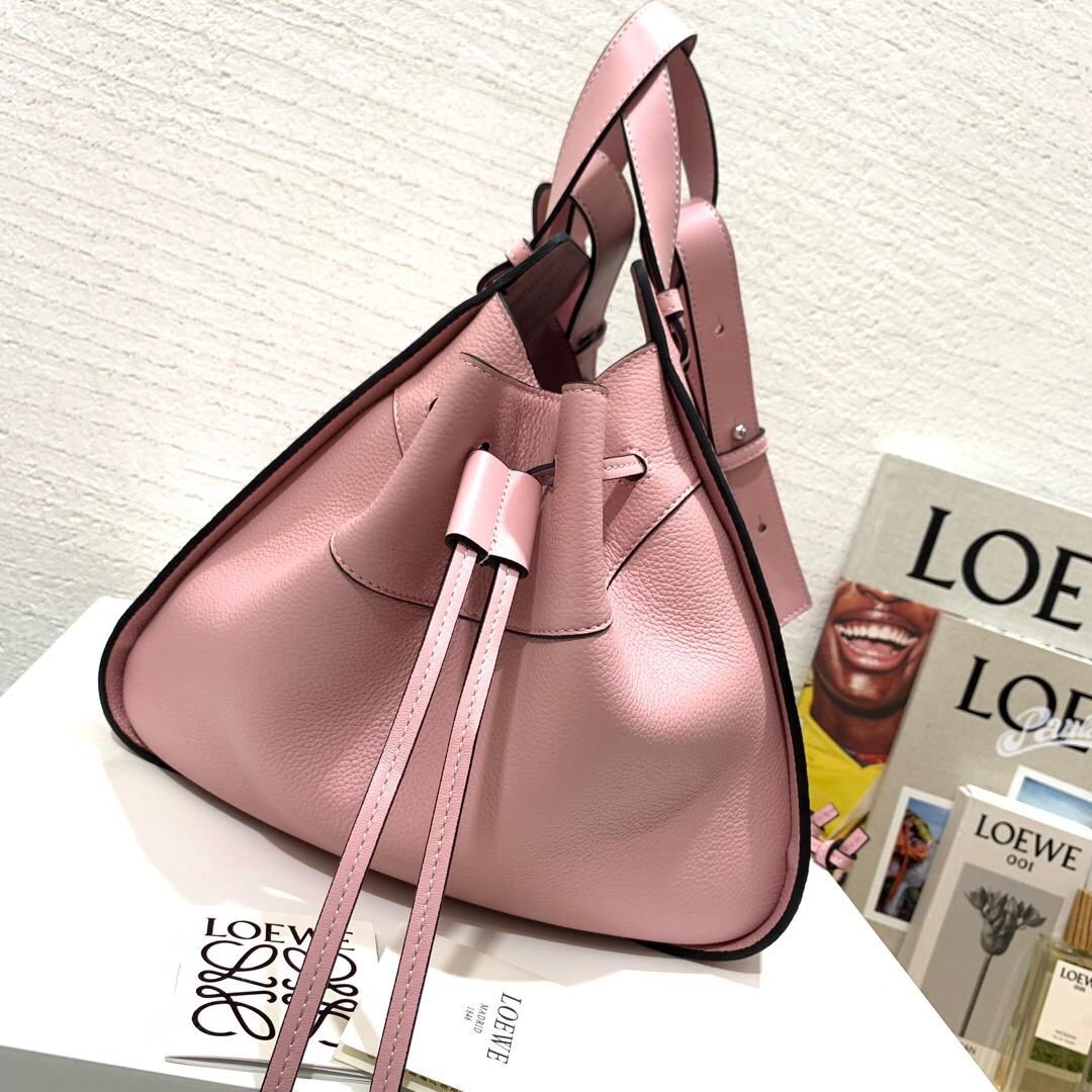 羅意威香港官網 吊床包價格 Loewe Hammock Small Bag Pastel Pink