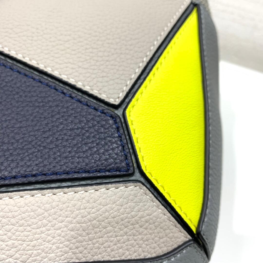 羅意威意大利官網 LOEWE Puzzle Sling Grey/Yellow