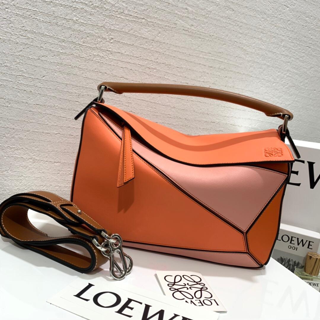 羅意威puzzle 小號和中號對比 loewe Puzzle Small Bag