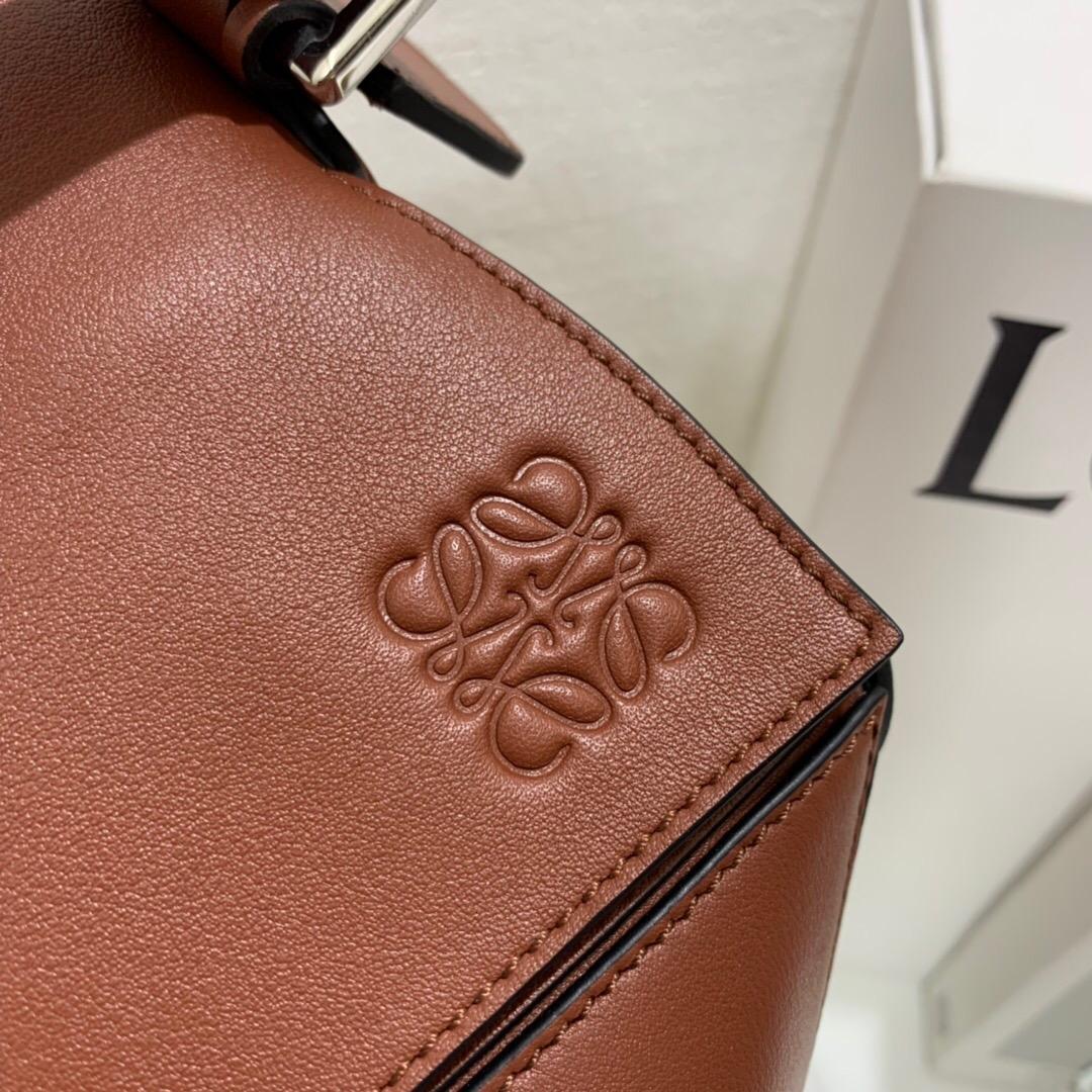 香港羅意威官網男包價格 LOEWE Puzzle Large Bag Rust Color