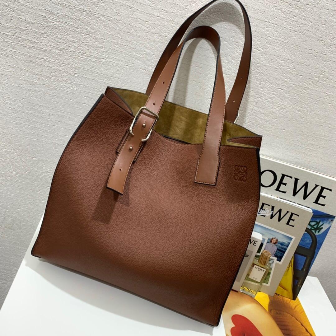 羅意威購物袋價格及圖片 男女通用款LOEWE Buckle tote bag