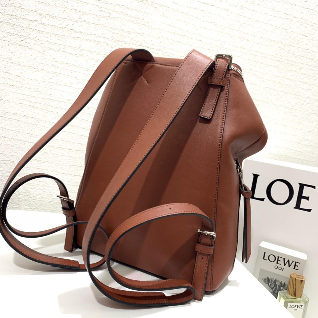羅意威女士雙肩包價格 LOEWE Goya Small Backpack Rust Color