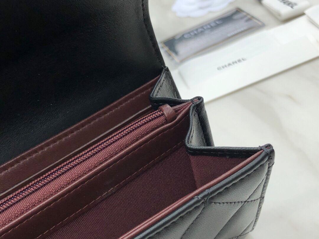 香奈兒包包香港 臺灣官網價格 羊皮經典長款口蓋錢包
