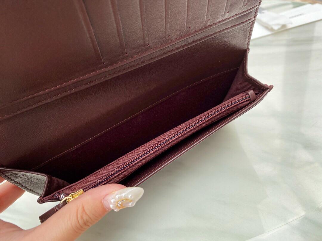 香奈兒經典長款口蓋錢包專櫃價格 香奈兒錢包官網