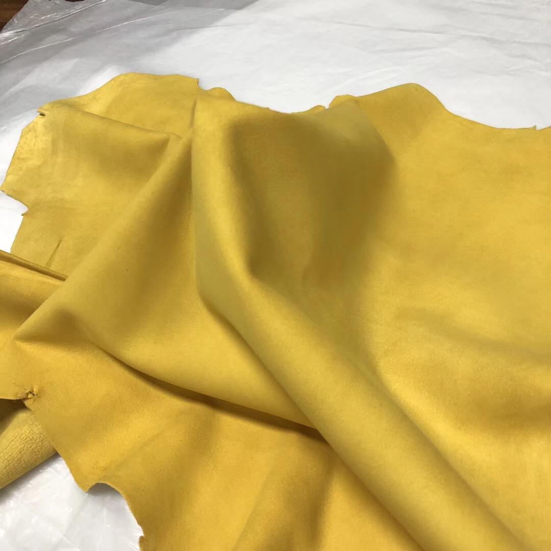 Hermes 9O那不勒斯黃 jaune de naples Birkin Lindy Verrou 山羊皮 麂皮絨