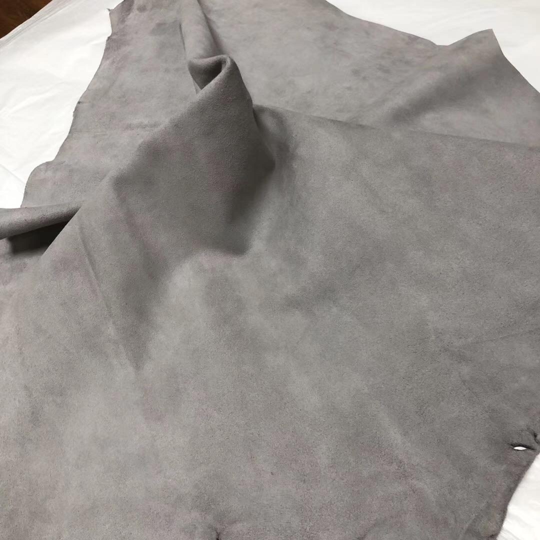 Hermes Birkin Kelly bag Doblis Suede 8F 錫器灰 Etain 山羊皮 麂皮絨