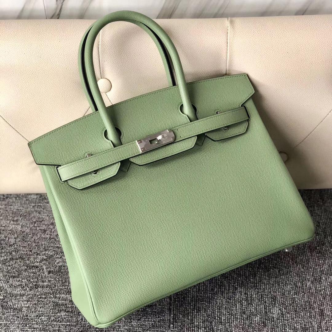 臺灣愛馬仕鉑金包30價格 Taiwan Hermes Birkin 30cm 3I牛油果綠 Vert Criquet 蟋蟀綠