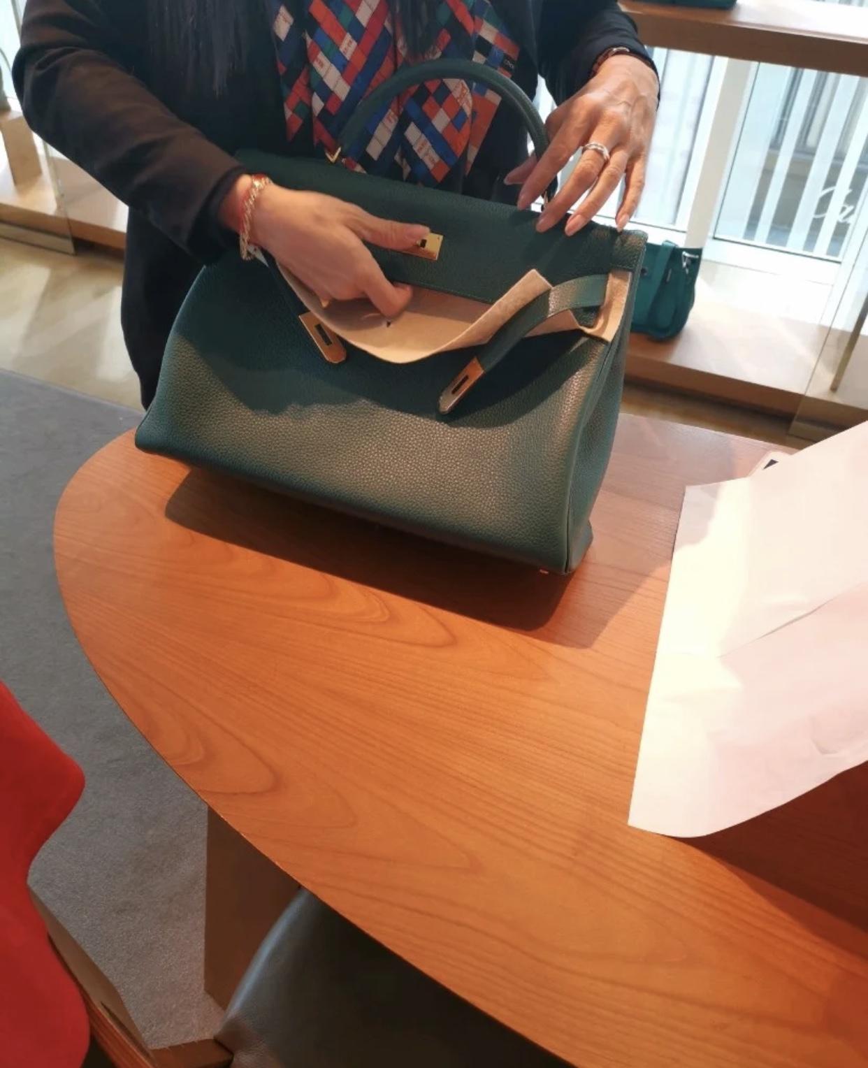 愛馬仕凱莉包40CM價格多少錢 Singapore Hermes Kelly 40cm Togo皮