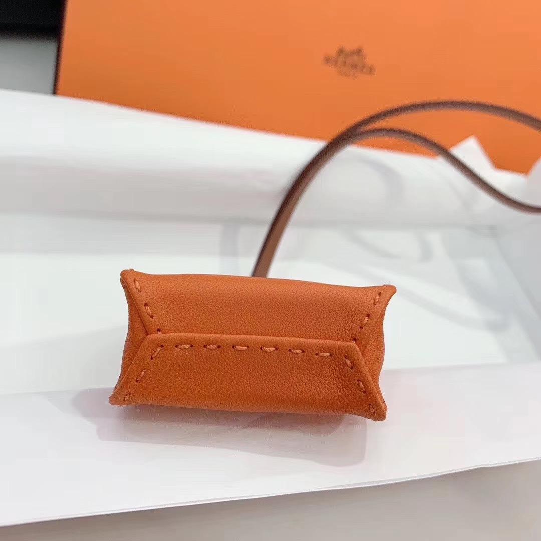 香港香港島中西區 Hermes SAC Oranges widgets 愛馬仕mini限量款掛件