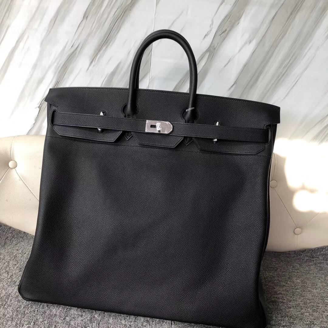 香港香港島中西區 東區鉑金包 Hermes CK89 Black 50cm Hac Birkin Togo