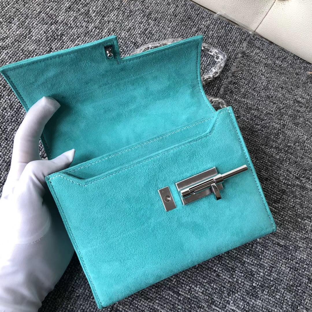 Hong Kong Hermes Verrou 17.5cm U1維羅斯納綠 Vertluo We verone