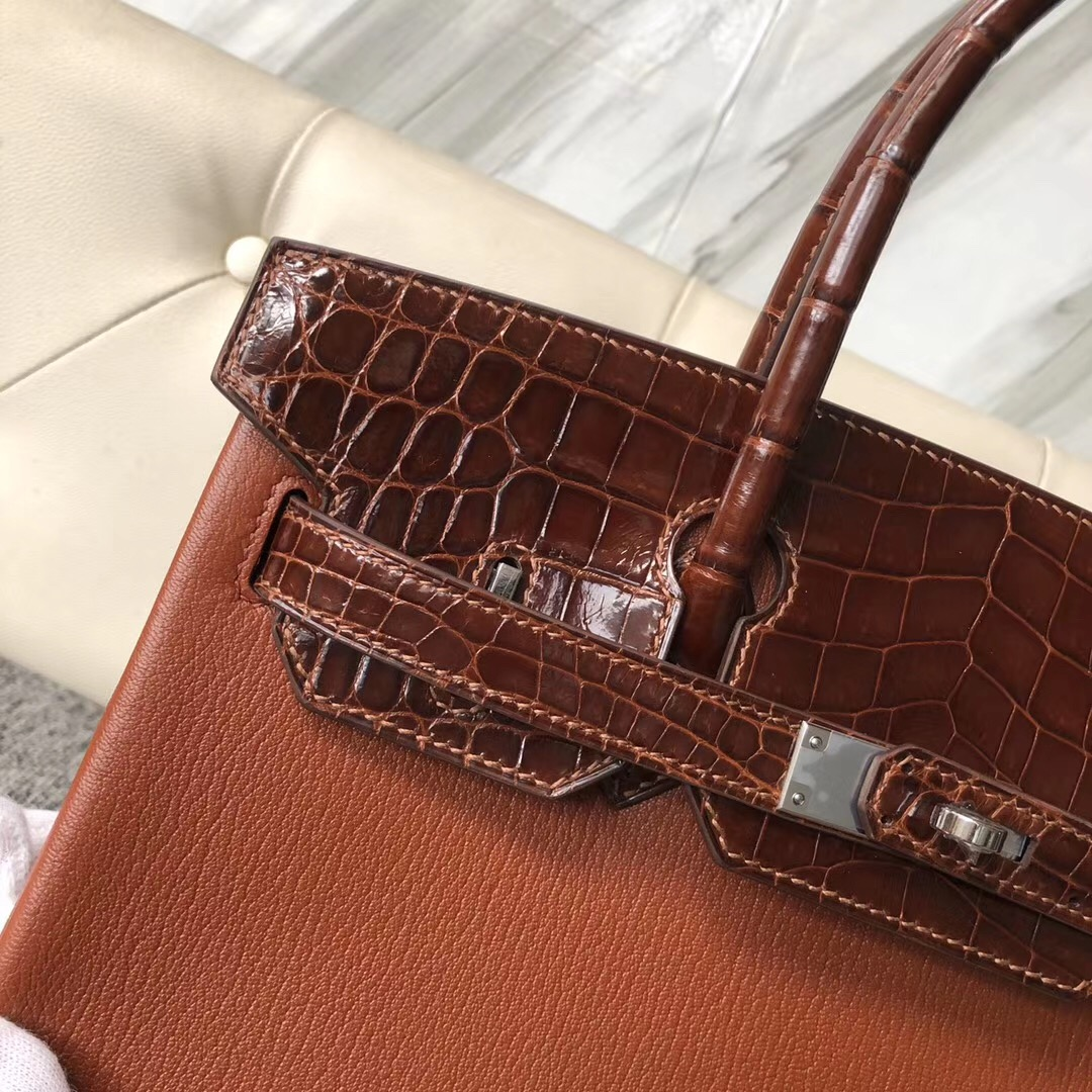 Hong Kong Hermes Birkin 30cm Touch 山羊皮6C古銅色 Bronze CC31蜜糖棕 Miel