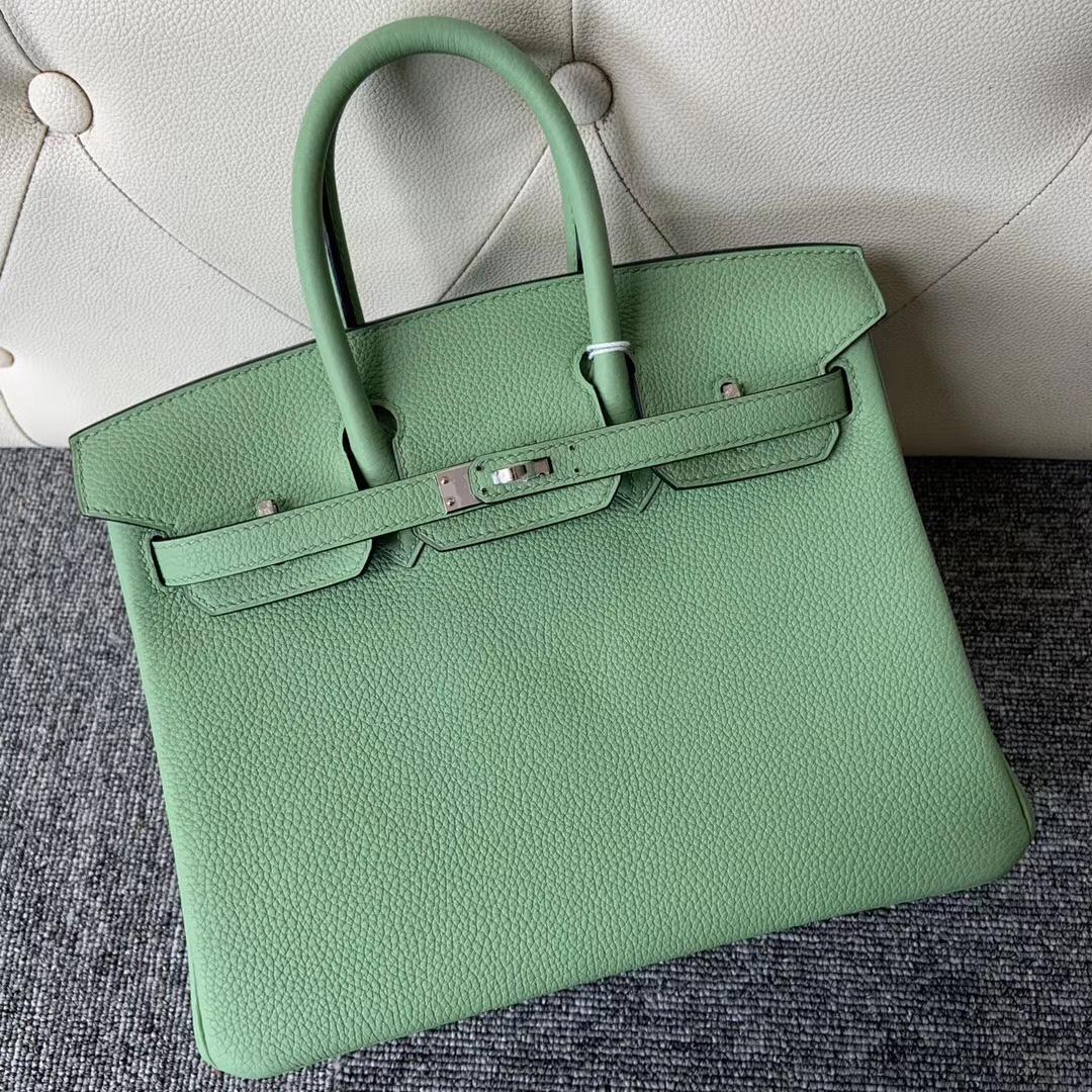 香港西貢區 Hermes Birkin 25cm togo 3I蟋蟀綠 Vert Criquet 牛油果綠