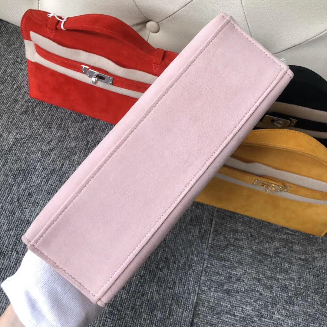 愛馬仕香港深水埗區 Hermes 3Q Rose Sakura 新粉色 MiniKelly Pochette