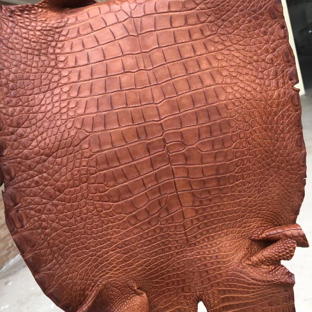 Hermes Birkin 25cm 30cm 霧面美洲鱷 CC34 Fauve 原始色 Alligator Crocodile