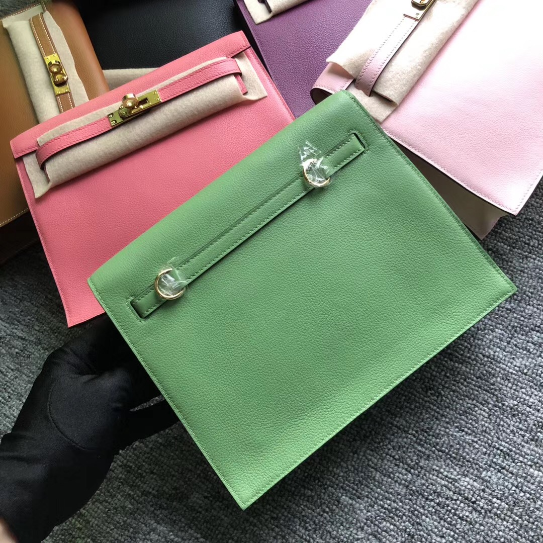Indonesia Hermes Kelly Danse Evercolor 3I Vert Criquet 牛油果綠