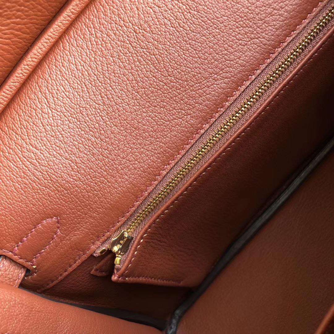 香港九龍城區 葵青區 愛馬仕鉑金包 Hermes Birkin 25cm Togo 6C 古銅色 Cuivre