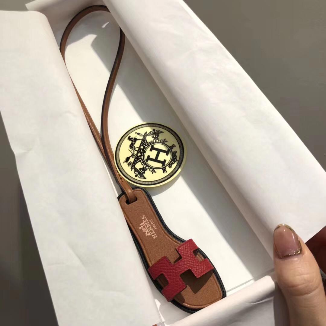 臺北市新北市桃園市愛馬仕迷妳 拖鞋 小掛件 Hermes Mini slipper Small pendant
