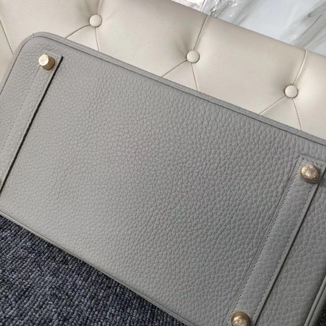 臺灣新北市鉑金包定制價格 Hermes Birkin 30cm Togo CK80 Grey Pearl