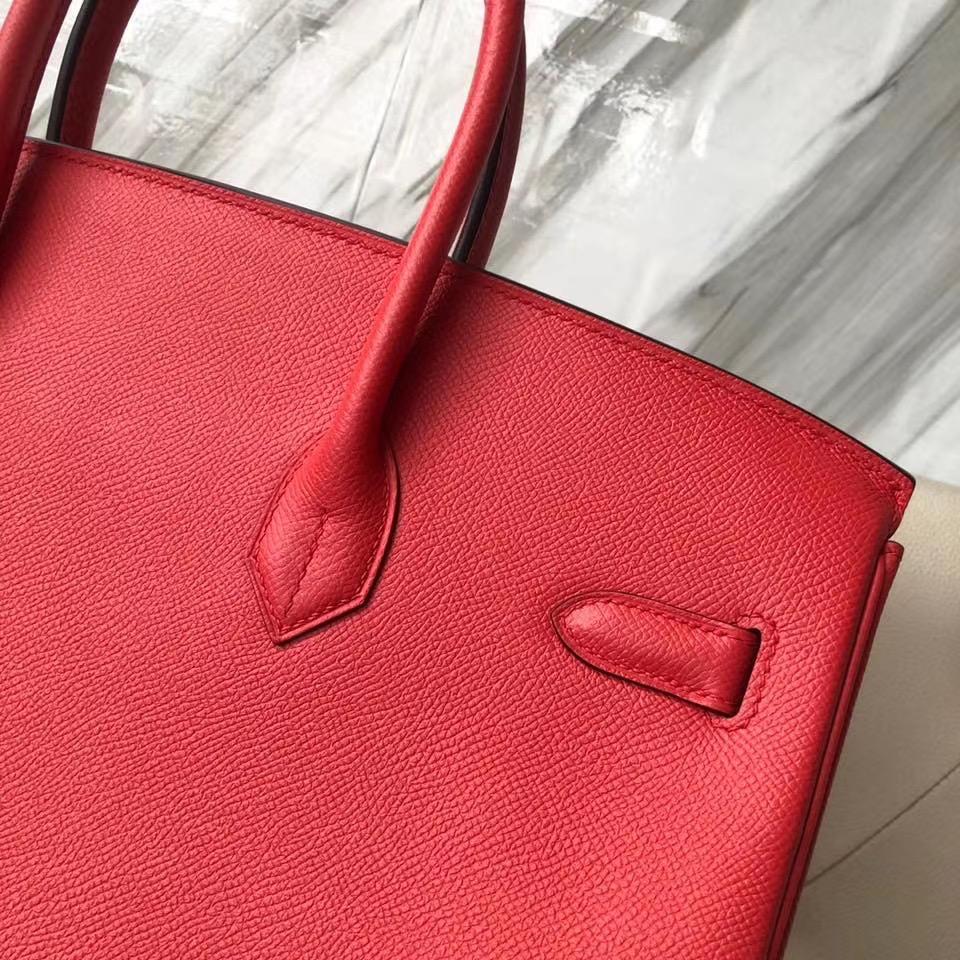 香港新界愛馬仕birkin35專櫃價格 Hermes Birkin 35cm T5蜜桃粉 Rose Jaipur