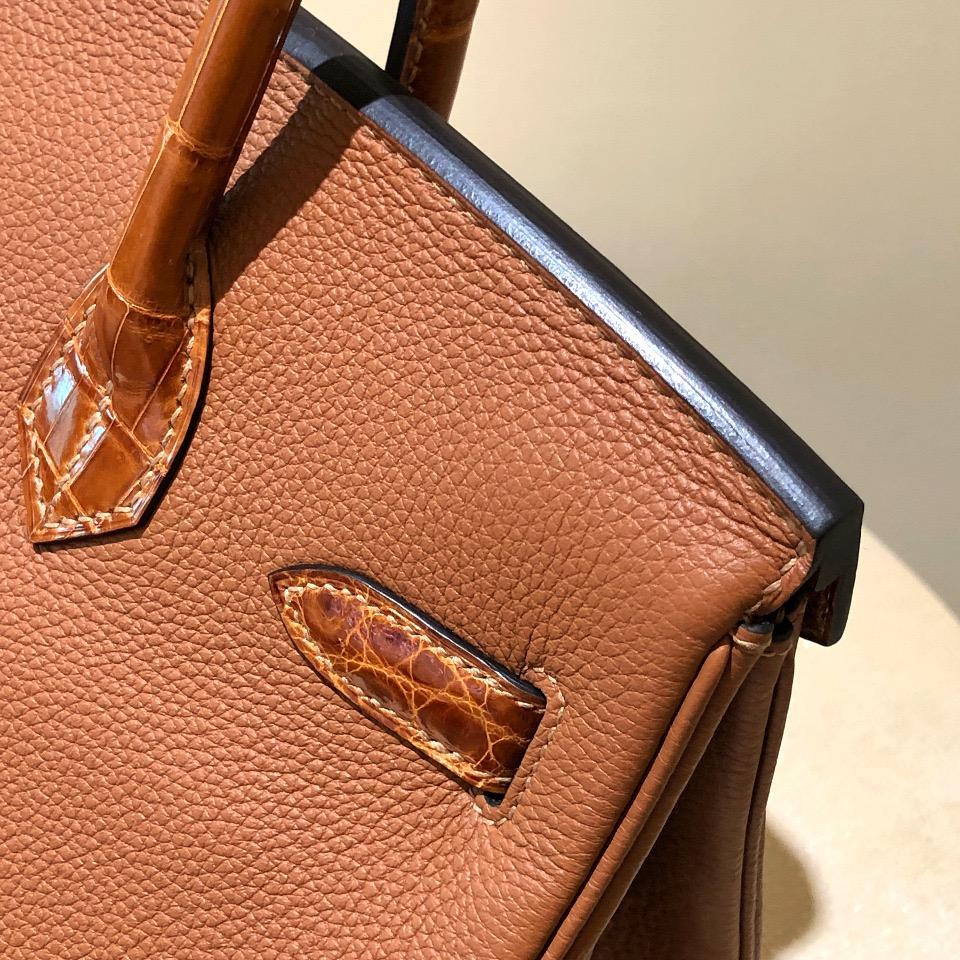 香港葵青區愛馬仕鉑金包 Hermes Birkin 30cm Touch ck37 gold CC31蜜糖棕
