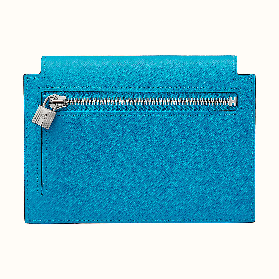 香港九龍城區紅磡 九龍城 Hong Kong Hermes Kelly pocket CK0F Bleu Frida