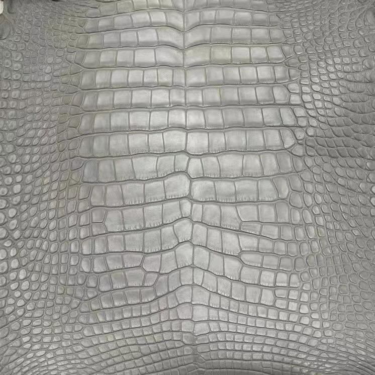 Hermes 8U Blue Glacier 冰川藍 Matte Alligator Crocodile 霧面美洲鱷魚