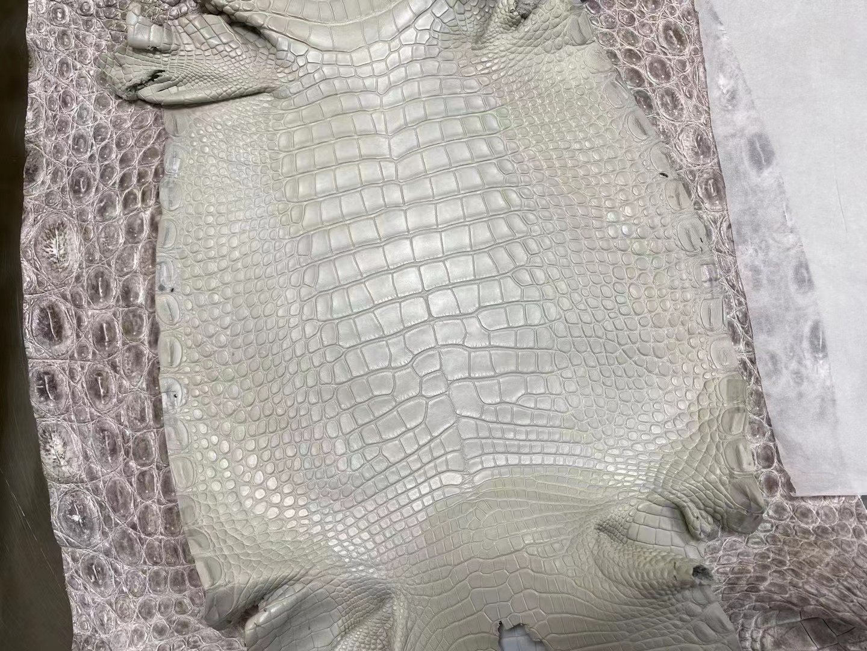 Hermes 80 珍珠灰 Gris Pearl Matte Alligator Crocodile 霧面美洲鱷魚