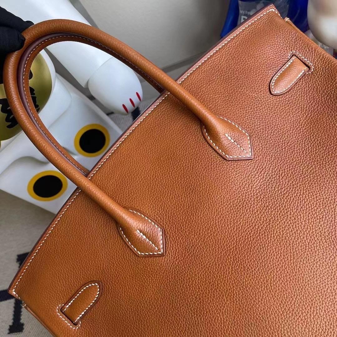 愛馬仕鉑金包價格 Hermes Birkin 35 Barenia Faubourg 馬鞍皮 34 Fauve
