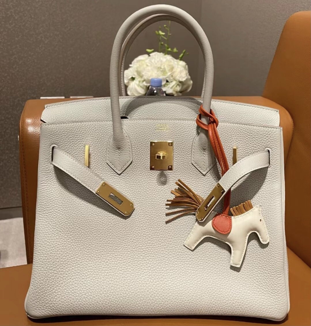 Saudi Arabia Hermes Birkin 30cm Togo 80 Gris Perle 珍珠灰