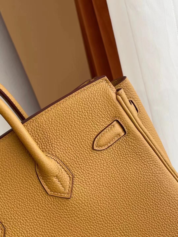 Boston USA Hermes Birkin 25cm Togo 2S Seasme 芝麻色 全手工縫製 金扣