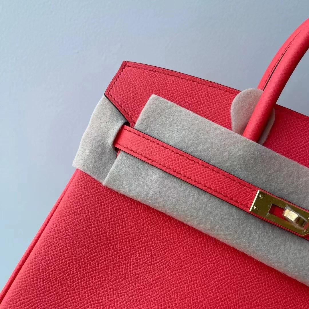 Saudi Arabia Hermes Birkin 25cm Epsom 0E Rose Texas 德克薩斯粉金扣
