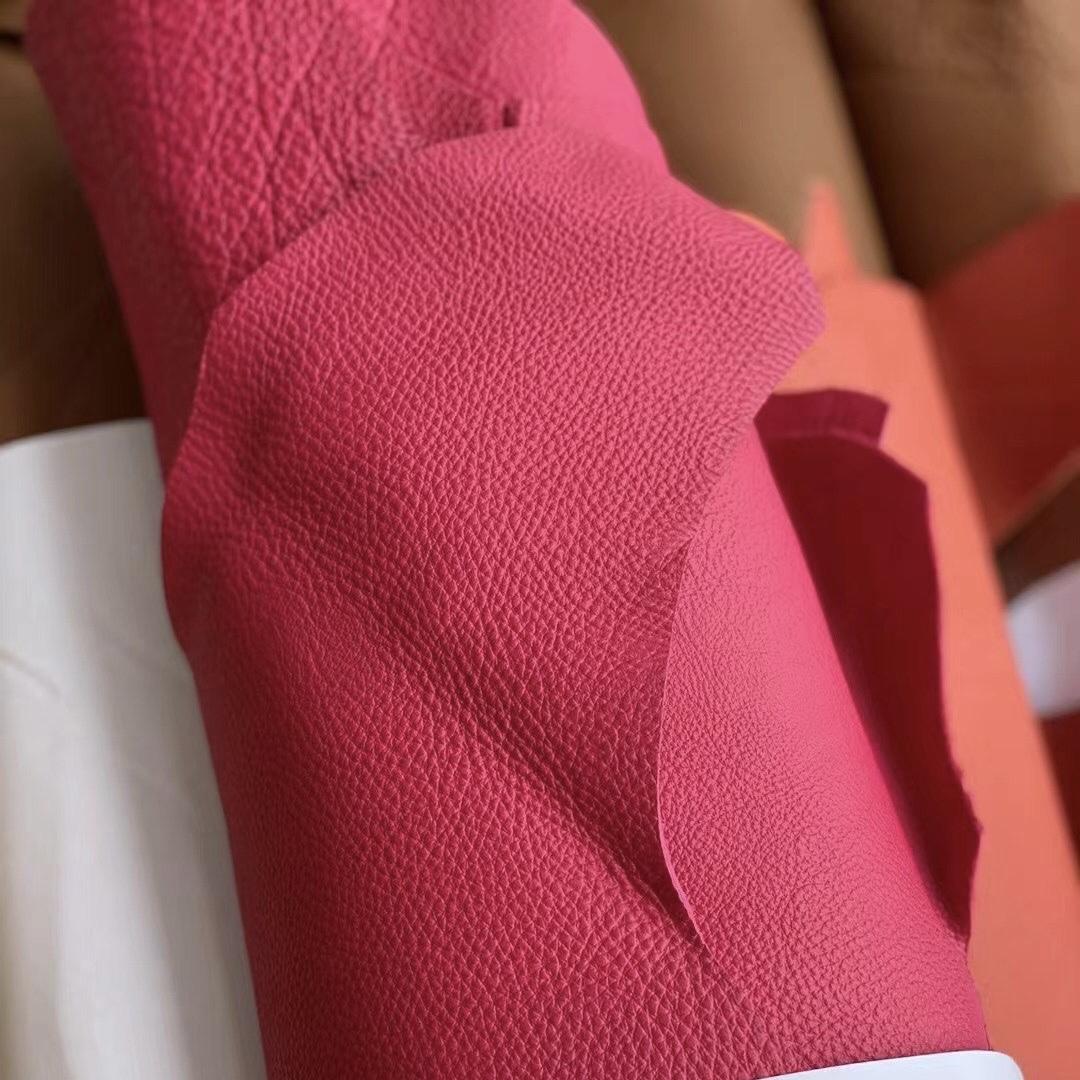 Hermes Togo 0E Rose Texas 墨西哥粉 橘調深珊瑚 0G rouge sellier 馬鞍紅