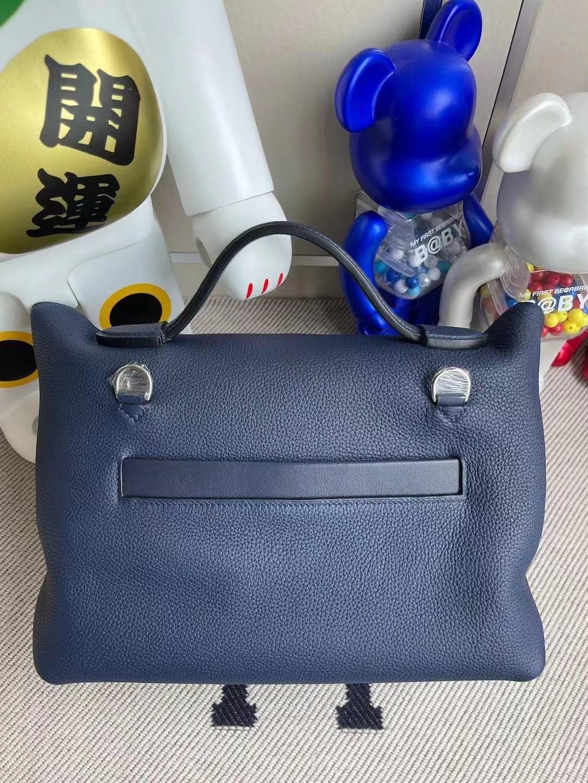 Saudi Arabia Hermes Kelly 24/24 29cm S4 Deep Blue 深邃藍 銀扣