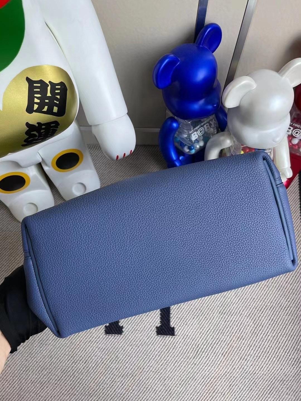 Taiwan Hermes Kelly 24/24 R2 Blue agate 瑪瑙藍 全手工蜜蠟線縫製