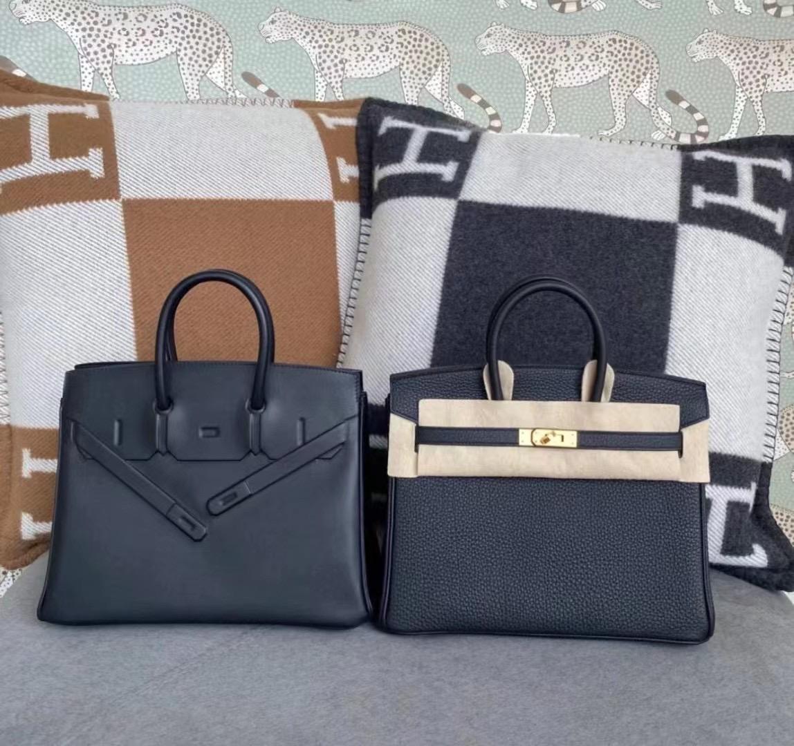 愛馬仕幻影價格 Saudi Arabia Hermes Birkin 25 Shadow Swift 89 Noir 黑色
