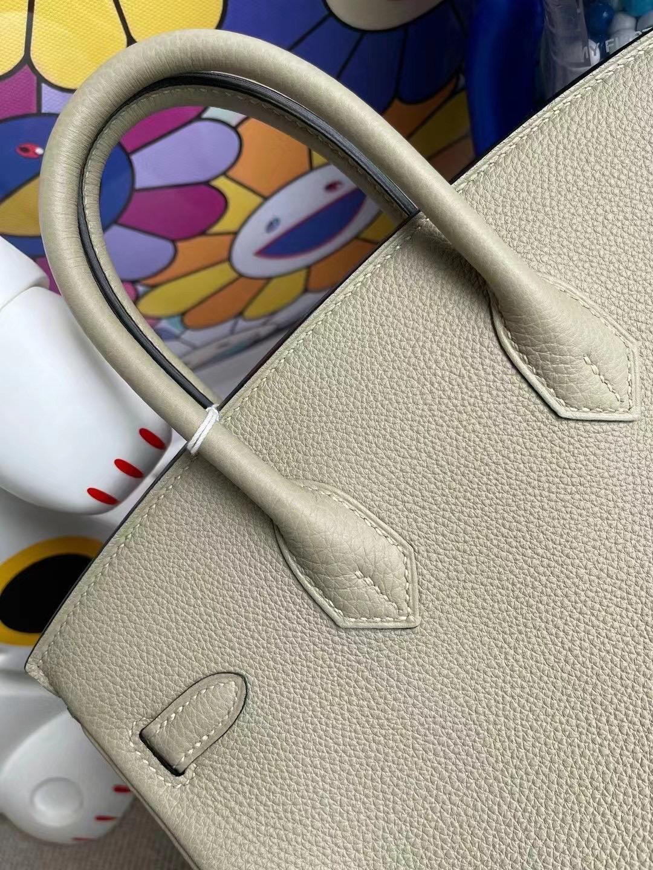Hong Kong South Hermes Birkin 25cm Q1 Sauge 鼠尾草綠 全手工蜜蠟線縫製 金扣