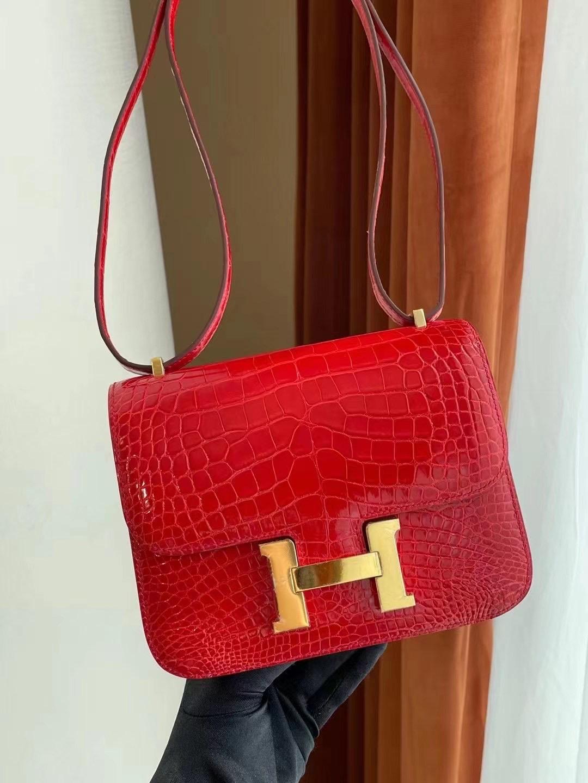 Saudi Arabia Hermes Constance Mini Alligator Crocodile 現貨顏色大全