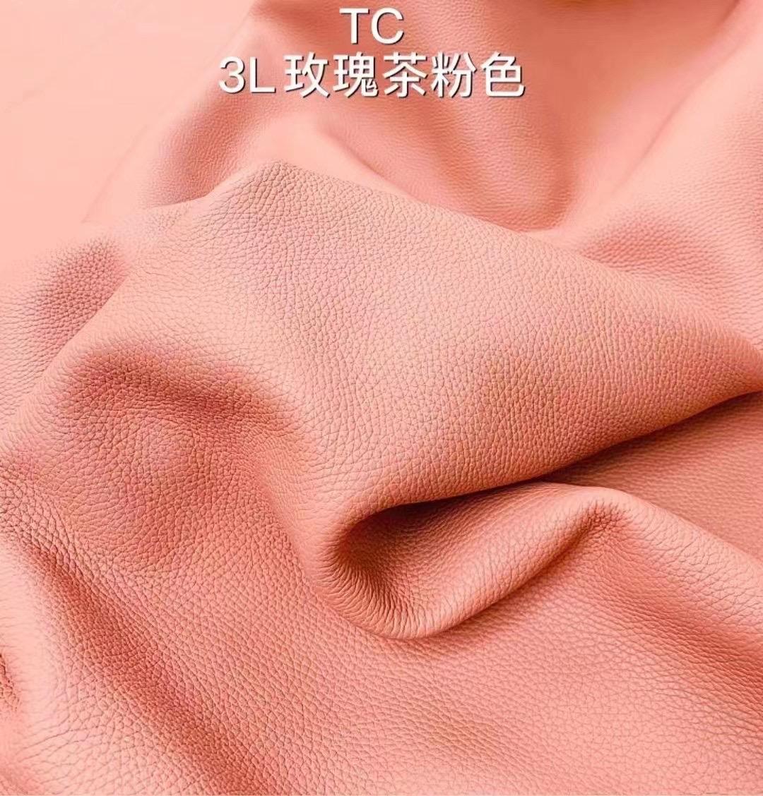 愛馬仕皮革分類 Hermes taurillon Clemence 3L 玫瑰茶粉色 接受訂製