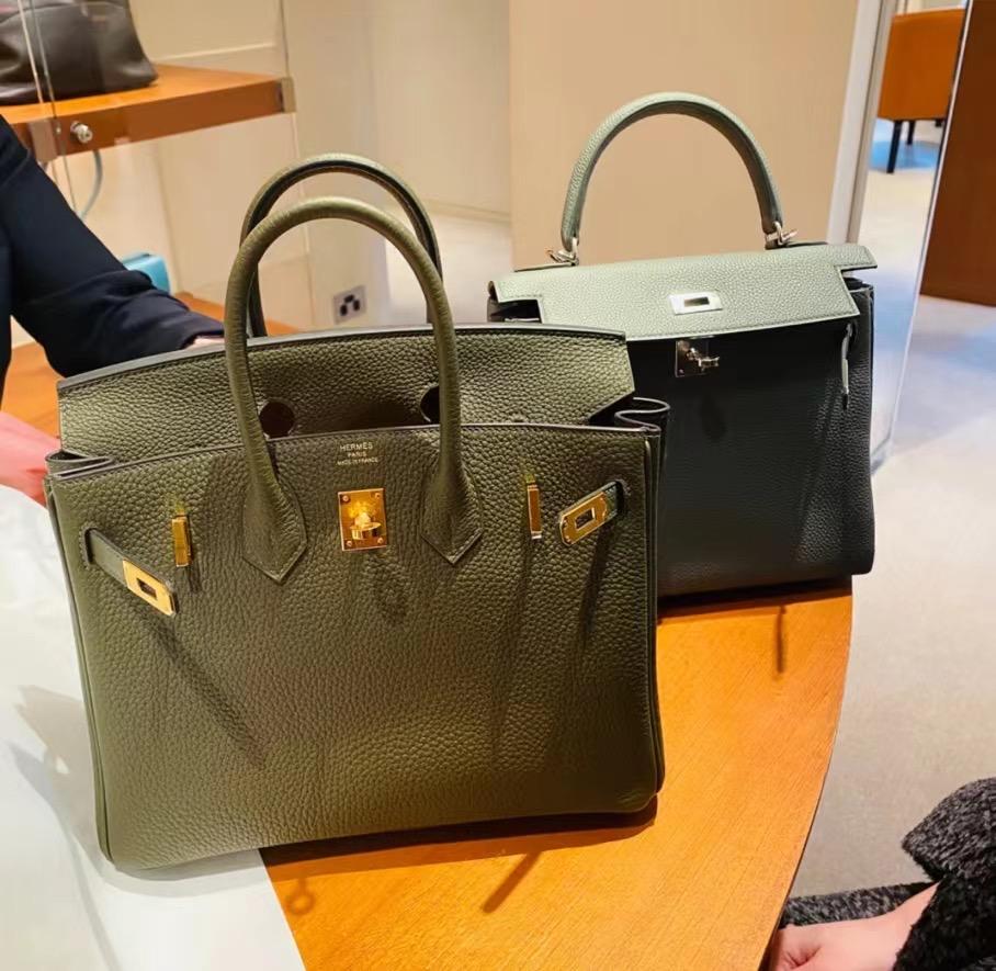 Hermes Birkin 25cm 30cm Togo G8 Vert Maquis 深橄欖綠 接受訂製